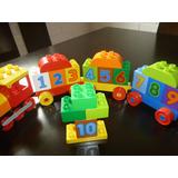 Lego Duplo Tren De Los Numeros