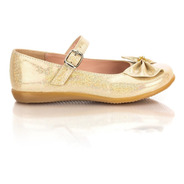 Zapatos Niña Balerina Caramel 9008 Beige Tres Reyes