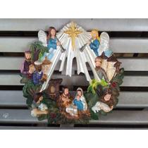 Pecebre Navidad En Yeso Artesanal Nuevo