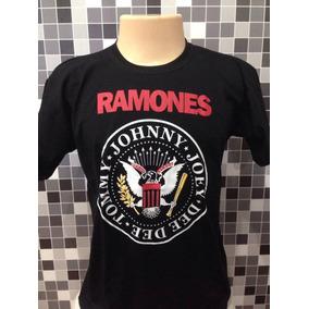 Camiseta Banda De Rock Ramones Preço Imbatível