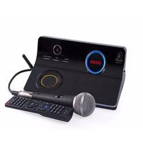 Videokê Pro 950 - Profissional Com 2 Microfones Pro950