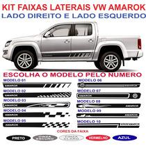 Acessorios Kit Adesivo Lateral Vw Amarok Sport Cabine Dupla