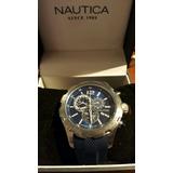 Reloj Nautica Nuevo Resistente Al Agua