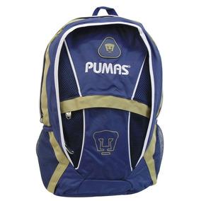 Mochila Juvenil Escolar Futbol Soccer Pumas Unam 7818-5