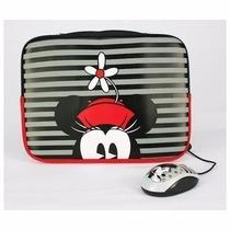 Funda Neopropeno Para Tablet 10 Pulgadas Minnie Con Mouse