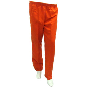 Pantalón Quirúrgico En Impermeable Naranja Talla M