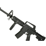 Fusil/airsoft/colt/m16 A1/ Cuerpo Polimero/resorte/6mm