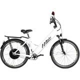 Bicicleta Elétrica Woie Silver Fabricada No Brasil - Branca