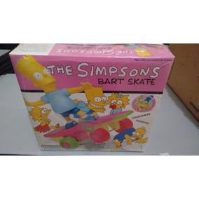 Simpsons No Skate Brinquedo Antigo Da Glasllite