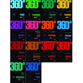 Kit Box De Livros Coleção 360 º Editora Ftd Todas Matérias