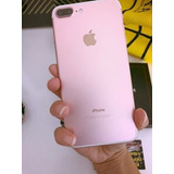 Iphone 7 Plus 256gb Rose! Perfeito Semi-novo