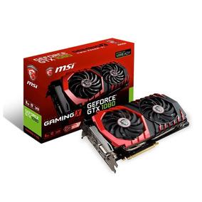 Placa De Video Msi Geforce Gtx 1080 Gaming X 8gb Gddr5x