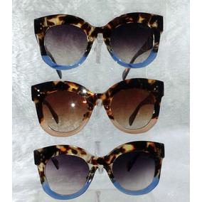 Oculos De Gatinho Tartarugado Com - Óculos De Sol no Mercado Livre ... d0eb9b4a70
