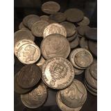 Lote De Monedas De 5 2 1 ,25 Y 0,5 Venezolanas 1965 A 1988