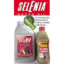 Kit 5 Litros Oleo Motor Selénia Pure Energy K 5w30 Sintético