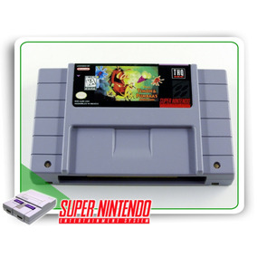 Timon & Pumbaas Jungle Games Original Snes