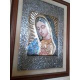 Cuadro En Repujado Virgen De Guadalupe