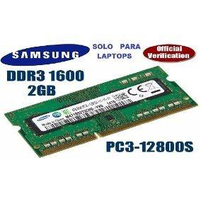 Memoria Para Laptop 2gb Ddr3-1600 Mhz Somos Tienda Fisica!!
