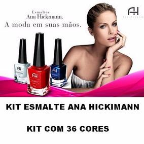 Esmalte 9ml Ana Hickmann Com 36 Unidade
