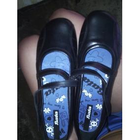 Zapatos Colegiales De Cuero Importados!!