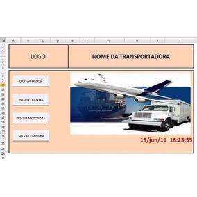 Planilha Para Controle De Transportadoras Completo