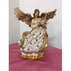 Angel Abundancia, Abundia Y Prosperidad 35 Cm
