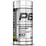 P6 Chrome Testosterona Booster Cellucor Americano Precursor