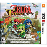 Nuevo! Nintendo 3ds The Legend Of Zelda Tri Force Heroes