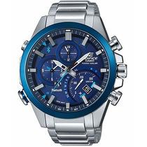 Relógio Casio Edifice Globaltime Link Bluetooth Eqb-500db-2a