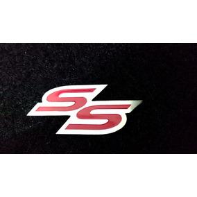 Emblema Ss Da Grade Corsa Meriva Astra Inox Alta Qualidade!!