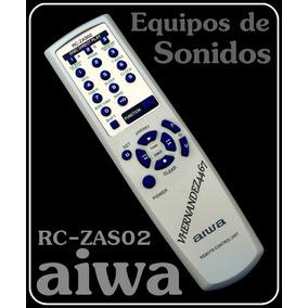 Control Remoto Equipos De Sonidos Aiwa Rc-zas01/02 Nuevo.!!