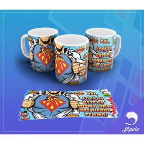 Caneca Cerâmica Personalizada Dia Dos Pais 013