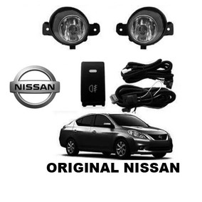 Kit Farol Milha Nissan Versa 11/14 Novo Original Brprt10325