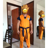 Peruca Goku Vegeta Cosplay Dragon Ball