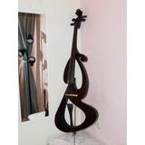 Violoncello Electrico 4/4 Cello Chelo Violoncelo Con Estuche
