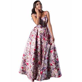 Vestido Fiesta Largo De Noche Sqab006
