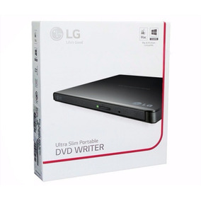 Grabadora Lectora Dvd Cd Externa Lg Slim Usb Pc Mac Notebook