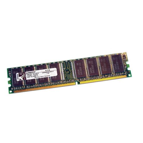 Memoria RAM ValueRAM  512MB 1x512MB Kingston KVR400X64C3A/512