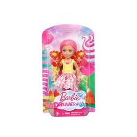 Barbie Villa Caramelo Surtido Chelsea Surtido Vestido Rosa/b