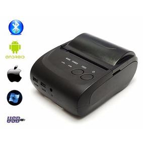 Impressora Celulares Bluetooth Portátil Comprovante Cartão +