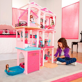 Nova Casa Dos Sonhos Barbie Cjr47 - Mattel