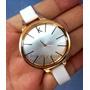 Reloj Brazalete Para Dama De Cuero