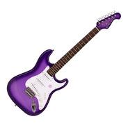 Guitarra Electrica Gipsy Rose Stratocaster Lila Con Funda!