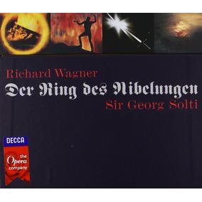 Wagner - El Anillo Del Nibelungo - Solti - Colección 14 Cds