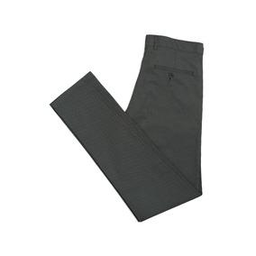Pantalón Gabardina Estampada Calce Entallado Hombre Macowens