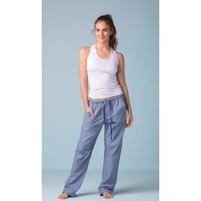 Pijama Pantalón Largo/blusa Blanca Mujer Entrega Inmediata