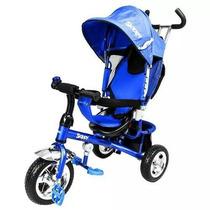 Triciclo 3 En 1 Skippy Color Verde O Azul
