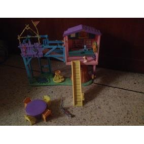 Casa De Campo Arbol Kelly Original Mattel Coleccion Regal