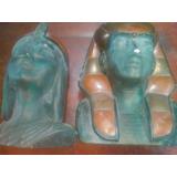 Adornos De Busto De Faraones.con Adornos De Cobre
