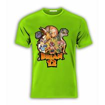 Playera O Camiseta Dino Rey Personalizada Todas Tallas!!!